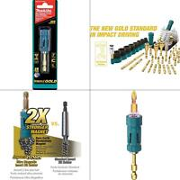 impact gold ultra-magnetic torsion insert bit holder | makita new high quality