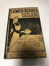 Vintage Lemco Dishes for all Seasons book 1890 - 1900 - Missing pages 1-4