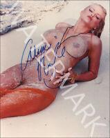 ANNA NICOLE SMITH SIGNED 10X8 PHOTO GREAT STUDIO SHOT IMAGE LOOKS AWESOME FRAMED