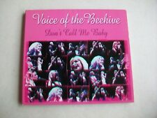 VOICE OF THE BEEHIVE - DON'T CALL ME BABY - 16 TRACK LIVE CD - EXCELLENT