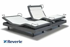 New Reverie 8Q Split King Adjustable Bed, Massage Wall-Hugger Bluetooth Wireless