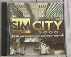 Sim City 3000 Pc Cd-rom Computer Game Rating Pending