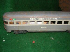 Marx 3/16 scale New York Central Passenger Car for O Gauge