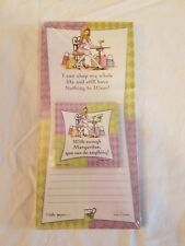 Magnetic Shopping List Memo Note Pad 60 Lined Sheets  ~with magnet
