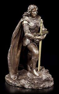 König Artus Figur mit Excalibur - Veronese Brieföffner Arthur