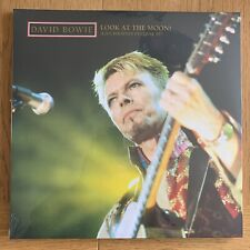 David Bowie Look At The Moon 3 x Vinyl Brilliant Live Adventures Sold Out.