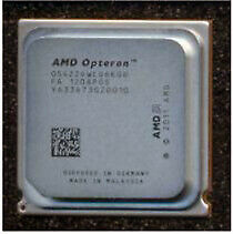 AMD Opteron 4238 Six-core processor - 3.3GHz, 8MB Level-3 cache.