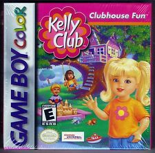 GBC Barbie Kelly Club, 2001 Nintendo of America, Brand New & Factory Sealed
