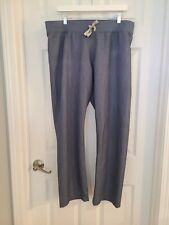 Euc Figs Technical Collection Livingston Scrubs Pants Grey Large Medical Dental