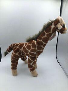 K & M International Inc 1994 Giraffe Plush Soft Stuffed Toy Wild Safari Animal