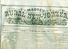 Newspaper Civil War ! Great Battle Before Richmond & Petersburg ! 1865