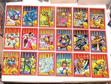 1993 X-MEN SERIES 2 SKYBOX BASE 100 CARD SET! MARVEL STAN LEE DEADPOOL