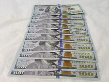 10 Consecutive Serial Numbers $100 Nextgen Fed. Reserve Notes