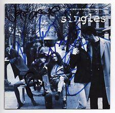 KIM THAYIL STONE GOSSARD JEFF AMENT MIKE McCREADY+ SIGNED SINGLES SOUNDTRACK CD
