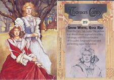 Carte Cards Collector THOMAS CANTY Numero 29 Snow White Rose Red