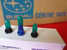 Subaru AC Heater Fan Bulbs Lighting Kit Outback & Legacy 1995-99 OEM Genuine