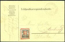 """AUSTRIA/HUNGARY 1914, Naval card ship """"ADMIRAL SPAUN"""""""