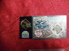 Florida Marlins Vs Milwaukee Brewers 1998 Stadium Give Away MLB Pin