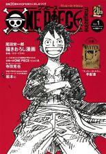 ONE PIECE Magazine Volume 1 20th Anniversary Manga Book With Luffy's Arrangement