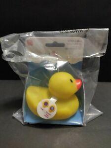 MUNCHKIN Hot Safty Bath Ducky Rubber Duck