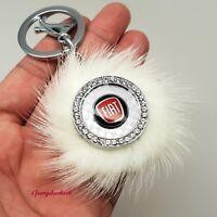 Fiat cars ladies key ring 500 punto ducato dobl panda scudo abarth 4x4 coupe new