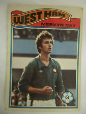 Mervyn Day - West Ham United (Topps Football Cards 1978/79 - Orange Back)