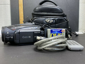 Canon VIXIA HV30 HD MiniDV Camcorder + Case, Charger, Remote, Battery,  2 Tapes