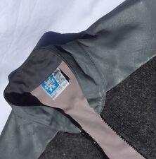 Norsewear jacket mens grey 100% Wool XXL vintage Made In NZ