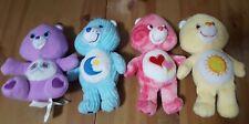 Lot of 4 Care Bears 8� Share, Bedtime, Love-A-Lot, Funshine Bears Stuffed Toys