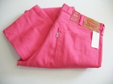 Levi's Mens 541 Athletic Fit Jeans Pink Sz 34x30 - NWT