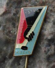 Vintage Spartak Tatra Kolin Czech Ice Hockey Club Team Czechoslovakia Pin Badge