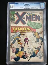 X-Men #8 CGC 5.5 OW Pages