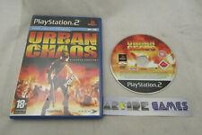 URBAN CHAOS PS2 PLAYSTATION 2 (vendeur pro)