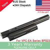 Battery VGP-BPS22 For Sony VGP-BPS22A VGP-BPL22 VPCEA PCG-6131 Adapter VPC-EA22
