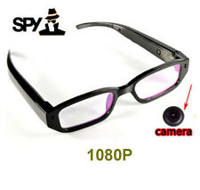 HD 1080P Spy Camera Glasses Hidden Eyewear DVR Vioce Cam Camcorder With 8GB Card