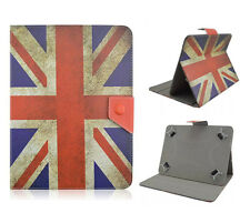 "Universal, funda protectora, estuche, f. 8 pulgadas TABLET eBOOK cover ""UK Flag"" case bolso"