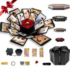 Surprise Explosion Gift Box  Anniversary Scrapbook DIY Photo Album LoveRomantic 