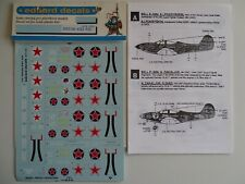 Eduard decals 1/72 Russian Aces on P-39 Airacobra