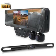 Multi Dash Cam Video Recording System - Rearview Backup & Driving HD Camera Kit