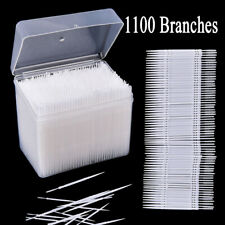 1100Pcs Plastic Dental Picks Oral Hygiene 2 Way Interdental Brush Tooth Pick US