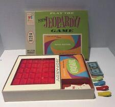 Vintage Milton Bradley New Jeopardy Board Game Fifth Edition