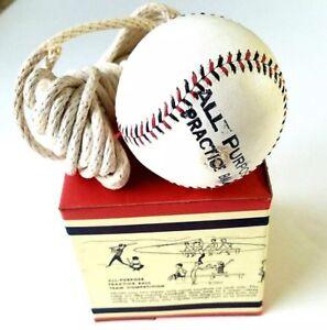 Rare 1960 Era All Purpose Practice Ball Baseball Training NOS Original Box MINT
