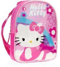 "Hello Kitty Pink Mini Backpack with Hood Locker Loop. 12"" Mini Backpack."