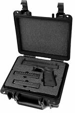Quick Fire Glock 17, 20, 21, 22, 31, 37 Pistol Gun Magazine Case, QF300-G01 New