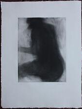 GARACHE Claude - Gravure eau-forte signée numérotée nu Matte etching 1982 **