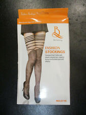 gray THIGH HIGH fashion STOCKINGS by BEILEISI