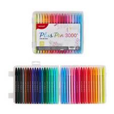 Monami Plus Pen 3000 Felt tip broad line pen 36 Ink Colors