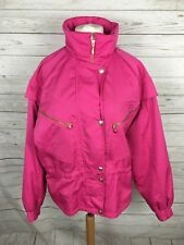 Women's Asics Retro Quilted Jacket - UK14 - Pink - Great Condition