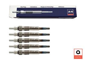 5x Amk a-N Glow Plugs for Audi A6 (4A,C4) + A6 Avant (4A,C4) 2.5 Tdi