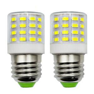 E27 E26 LED Bulb Lamp 110~265V 6W 48-5730 Refrigerator light Replace G45 bulb